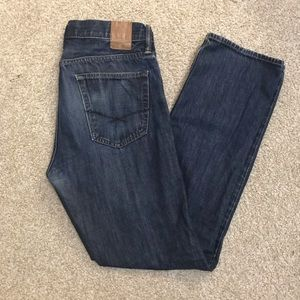 Men Gap Straight Jeans 31 x 32